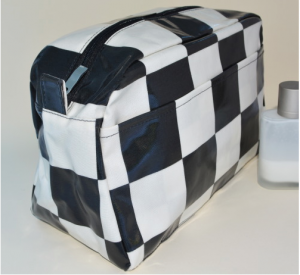 Chequer Wash Bag