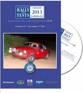 The Rally of The Tests 2013 DVD