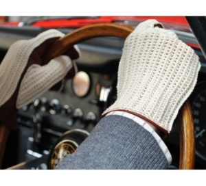 Delux String Back Driving Gloves