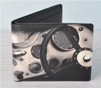 Steering Wheel Wallet