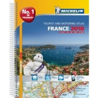 Michelin Road Atlas - France A4 Spiral