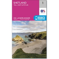 OS Landranger Maps, Map 1 to 204