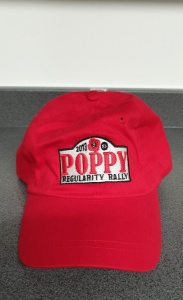 2013 Poppy Regularity Rally Cap
