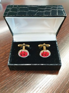 LeJog Gold Cufflinks