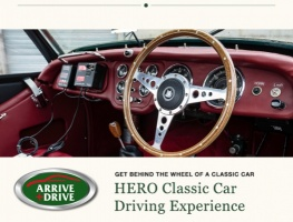 HERO Driving Gift Voucher: Get Behind the Wheel of A Classic Car