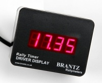 Rally Timer Driver Display Unit