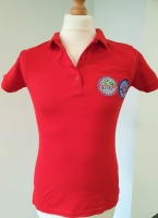 HERO/CRA Red Polo Shirt (Ladies - Medium)